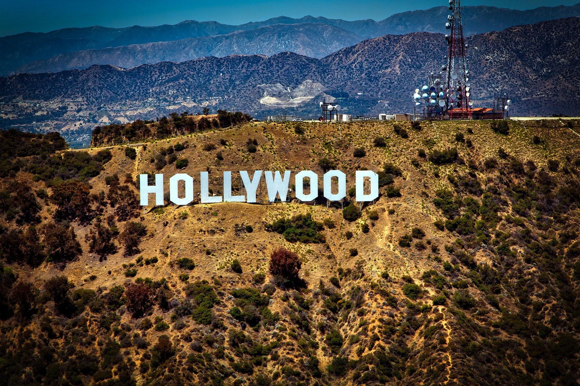 Filming in Los Angeles